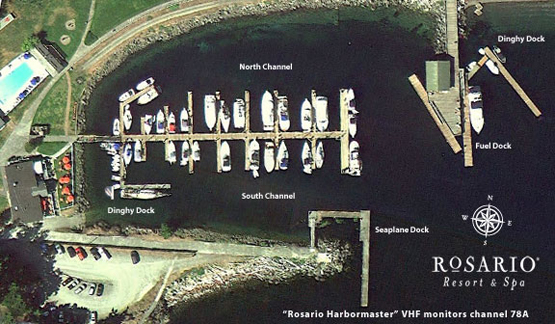 Rosario Resort Marina Orcas Island Marina Information