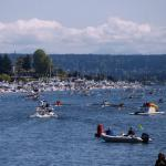 The 2015 Windermere Cup brings some of the best crew team in the world to the Montlake Cut and kicks off opening day of the boating season and other festivities that the Seattle Yacht Club host. (Source: Joshua Lewis / Seattle Refined & KOMO News)