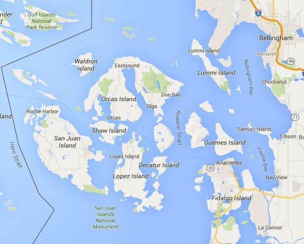 Marine Parks  San Juan Islands  Puget Sound  NWBoatInfocom