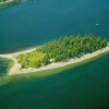 McMicken Island: #12 - Off the east side of Harstine Island on Case Inlet. 5 buoys, toilets, water, good anchorage, trails, no overnight camping. Watch your charts!